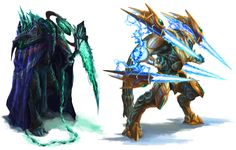 Protoss Campaign Concepts by Phill-Art on DeviantArt