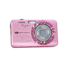 Casio Exilim z85 Digital Camera – Hello Kitty edition | Photography... (€460) ❤ liked on Polyvore featuring camera, electronics, fillers, accessories and pink