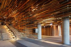 21 Fascinating Modern Wood Ceilings Images Wood Beamed