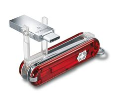 Victorinox Victorinox@work in red transparent - 4.6235.TG16B1
