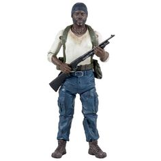 Walking Dead Action Figures Series 1 | Walking Dead Tyreese figure McFarlane Toys series 5 action figures