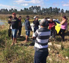 Crianças brincam perto de rio e encontram corpo de mulher...
