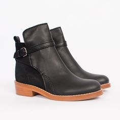 Acne Clover Buckle Boot