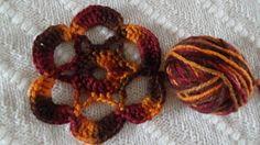 Como Tejer Roseta a crochet  paso a paso