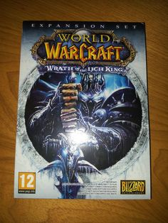 *NEW & SEALED* WORLD OF WARCRAFT PC EXPANSION PACK: WRATH OF THE LICH KING