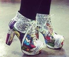 comic book heels. This Is D0PE! [: