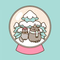 Pusheen the cat : Photo and like OMG! get some yourself some pawtastic adorable cat shirts, cat socks, and other cat apparel by tapping the pin! Pusheen Christmas, Pusheen Stormy, Pusheen Love, Image Chat, Nyan Cat, Gif Animé, Fat Cats, Vaporwave, Cat Memes