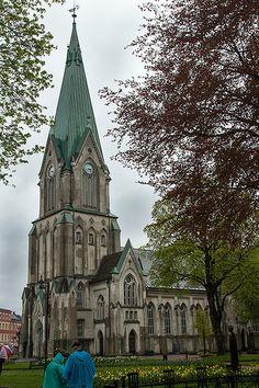 Kristiansand Cathedral, Kristiansand Norway | por GrahamJY