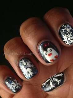 The Sparkle Queen: Christmas and Winter Nail Art {Ideas and Inspiration}