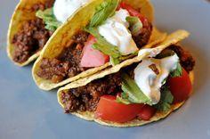best taco recipe ever. SO SO good. 10/10.