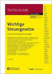 Wichtige Steuergesetze 2013 - NWB Verlag
