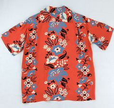 sun surf  No. SS36430 (short sleeve) 「ELSIE'S FLOWER」 165) RED 40s