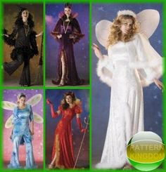 Simplicity 2864 Sexy Devil Witch Angel & More! Dress Patterns