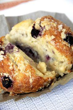 Blueberry Yogurt Muffins - Starbucks Copycat