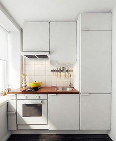 Дизайн маленькой кухни для молодой семьи: 11 правил — INMYROOM