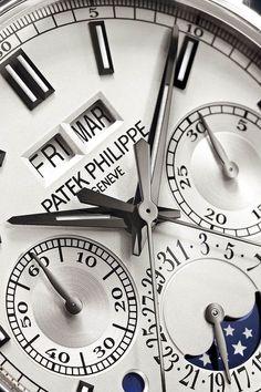 Patek Philippe Ref 5204 Grande Complication (platinum, perpetual calendar chronograph)