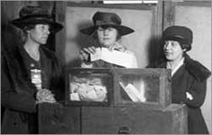 Women's Suffrage and World War I / Voting Rights and Citizenship Curriculum