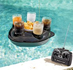 Remote Control Snack and Drink Pool Float -As seen on the TODAY show! Presenting the ultimate butler for your pool. Our motorized radio control drink float makes it fun and easy to serve guests snacks and drinks while they splash around and. Ipad App, Radios, Summer Fun, Summer Time, Summer Days, Hello Summer, Summer Bucket, Summer Breeze, Pool Snacks