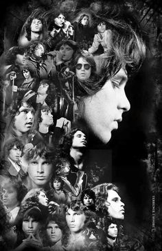 The many faces of jim morrison