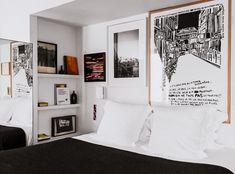 x : The Very Essence Of Pigalle Photo by A hotel by Unique Hotels, Beautiful Hotels, Pigalle Paris, Vogue Living, Wallpaper Magazine, Art Programs, Architectural Digest, Parisian Style, Elle Decor