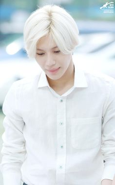 shinee taemin 2015 purple hair - Google Search