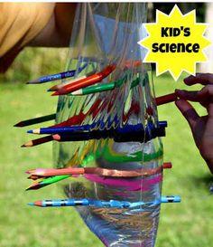 Ciencia con los peques: Los lápices mágicos
