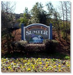 Sumter, SC : Welcome - corner of Pike Road and N. Main Street - Sumter, SC 2004