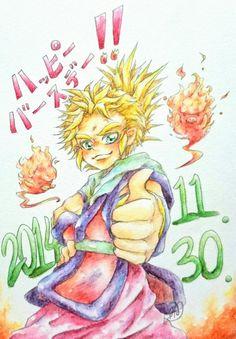 間に合ったぞ~!改めて誕生日おめでとうキルシュ~!!!いつまでも頼れるやんちゃでナイスガイなアニキでいて♡