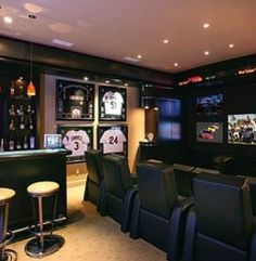 Why does it have to be a man cave??? I'm a lady and I LOVE this!!!! lol