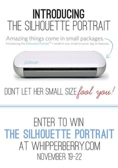Silhouette Poortrait Giveaway at WhipperBerry copy