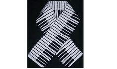 Free crochet scarf pattern piano music