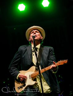Live music photography | Nashville Tennessee | The Americana Experience | Americana | John Hiatt performing at Cross County Lines for The Americana Festival! Such an honor to photgraph a legend!! {Anne Clark Photographs}
