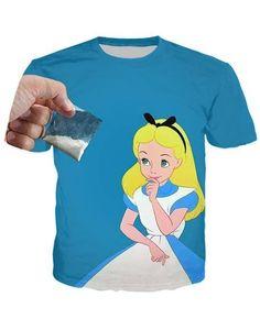 Alice In Wonderland Party T-Shirt Alice In Wonderland Party, The Little Mermaid, Cool Shirts, Cool Stuff, T Shirt, Men, Fashion, Supreme T Shirt, Moda