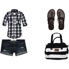 Summertime Plaid, created by cuttingcar61 on Polyvore
