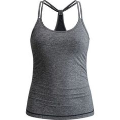 Whether you're toning up at the gym or pushing yourself to master a new climbing route, the Black Diamond Women's Six Shooter Tank Top offers uninhibited movement to keep your comfortable while you work. Made from highly breathable stretch fabric, this tank top features a built-in bra for support and comfort as you train and play on the rock.