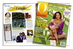 Grab a copy of the January issue of O magazine to hear what Gayle King had to say about her Mother-Daughter getaway to Lake Austin Spa Resort!