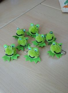 Kurbağa anahtarlıklar