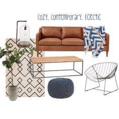Cozy, contemporary, eclectic- today on the blog {www.204park.com}