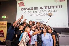 Selfie di gruppo. Torniamo a casa con il premio! #hsa2015 #ilmoliseariccione