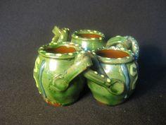Abbotsbury Pottery Slipware Fuddling Cup