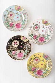 Goodearth - Serendib Tea Plates (Set of 4)