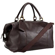 6e7ec2db89d5 Buy Barbour Leather Explore Holdall