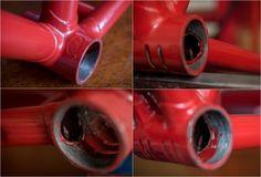 SB632 1976 SBDU Ilkeston 753 Track Frame RGF Bottom Bracket and Frame Pins