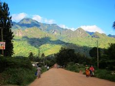 Morogoro, Tanzania ~ Reminded me of golden, co. Wanted to trail run without fear of being dinner for some giant cat