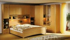 bedroom sets Cadiz , soild wood contemporary bedroom set