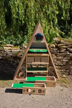 Wildlife World is expanding its range of educational products with the launch of the new Pyramid Insect Hotel, designed to be used both in a...