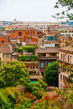 Roma, near Spanish Steps, Italy