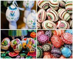 Ozdoby wielkanocne: ludowe pisanki i folkowe dekoracje