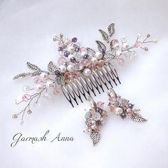 А у меня появился новый, роскошный комплект из гребня для волос с жемчугом и сережек. Он само очарование. В нем любая девушка сможет…
