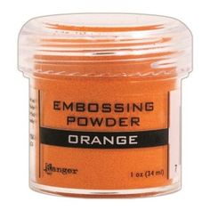 Ranger Opaque/Shiny Embossing Powders: Orange
